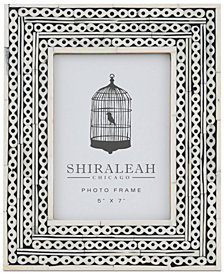 Shiraleah Boheme Chain Inlay 5'' x 7'' Picture Frame