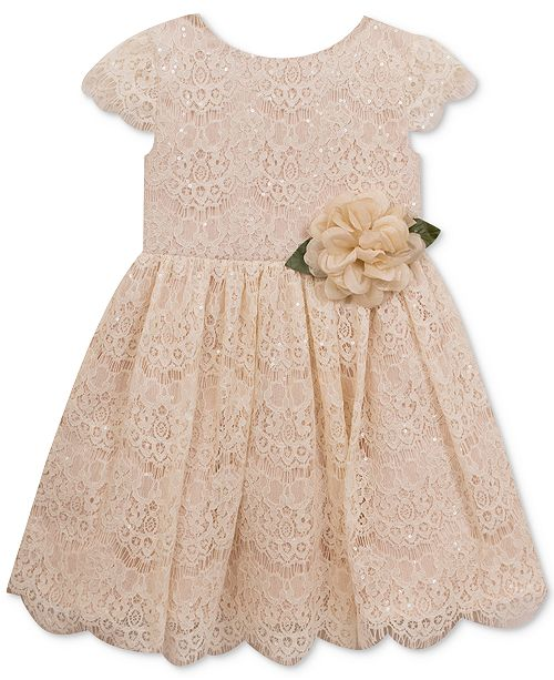 Sequin Lace Dress Toddler Girls