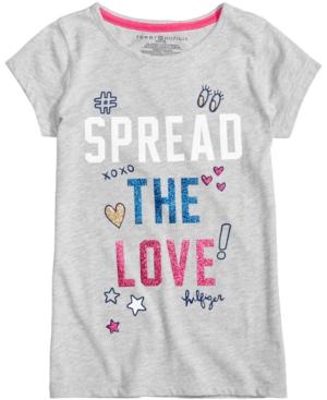 Tommy Hilfiger Spread The Love TShirt Big Girls (716)