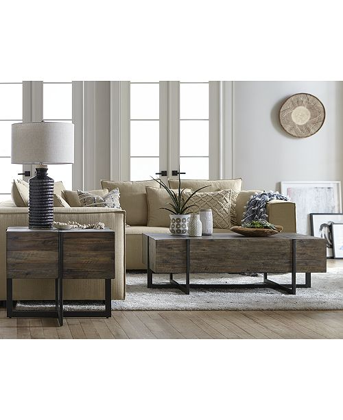 Furniture Chambers Occasional Table Furniture, 2-Pc. Set (Storage ...