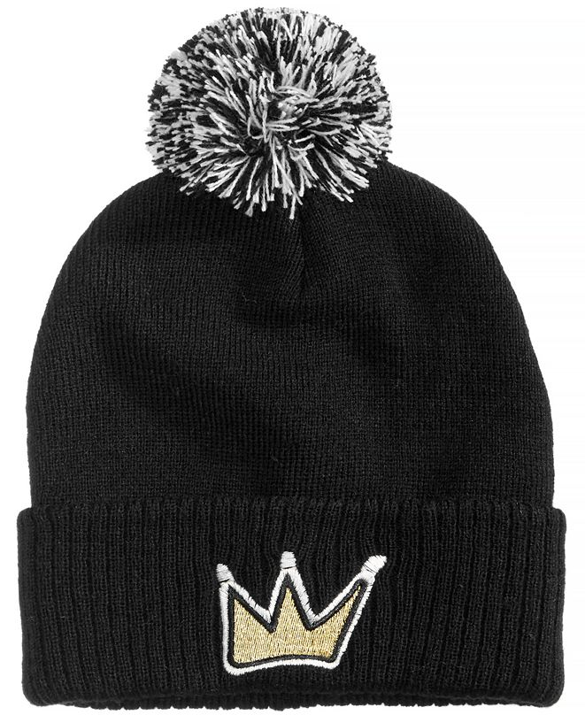 Sean John Crown Cuffed Beanie, Big Boys