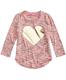 Tinsey Marled Hacci Top, Big Girls