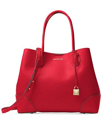 Michael Kors Mercer Large Center Tote - Handbags ...