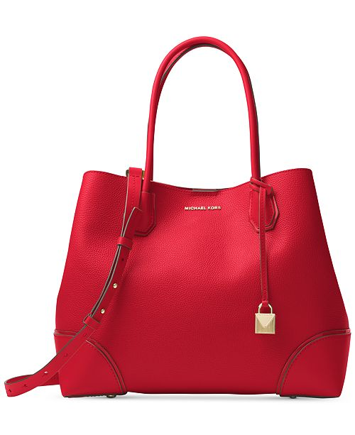 807b77ddfe57 Michael Kors Mercer Large Center Tote & Reviews - Handbags ...
