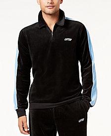 LRG Men's Lifted Velour Track Jacket