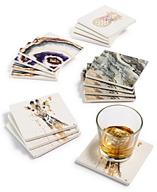 Printed Coaster Set Collection