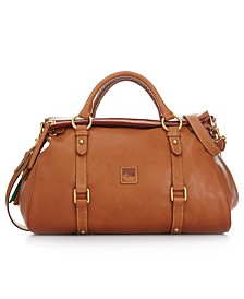 Dooney & Bourke Florentine Vaccheta Leather Satchel