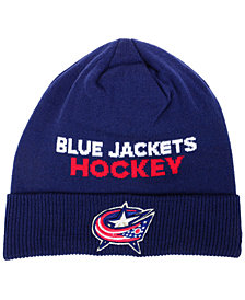 adidas Columbus Blue Jackets Player Knit