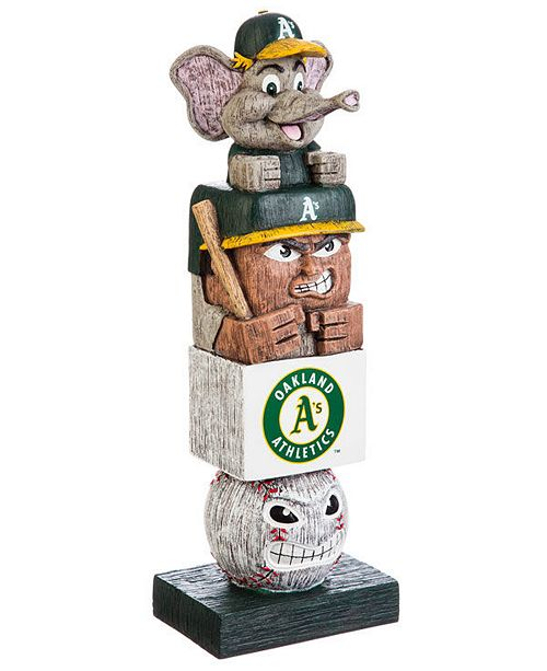 Evergreen Enterprises Oakland Athletics Tiki Totem