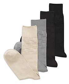 Perry Ellis Men's Socks, Single Pack Triple S Men's Socks