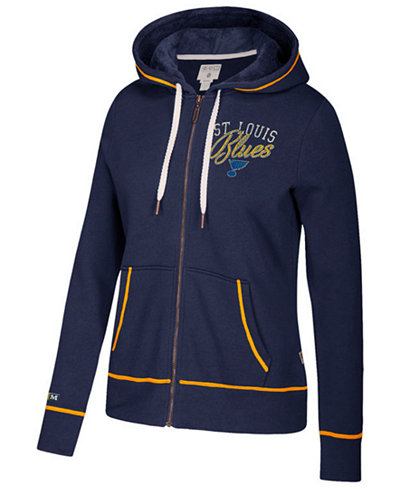 CCM Women's St. Louis Blues Full-Zip Hooded Sweatshirt