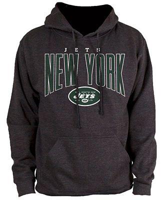 Authentic NFL Apparel Men's New York Jets Defensive Line Hoodie