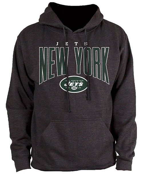 Authentic NFL Apparel Men's New York Jets Defensive Line Hoodie