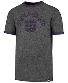 '47 Brand Men's Sacramento Kings Capital Ringer T-Shirt