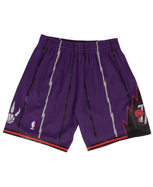 4087c08cdf2 Mitchell   Ness Men s Toronto Raptors Swingman Shorts   Reviews ...
