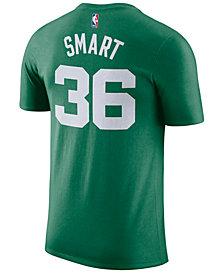 Nike Men's Marcus Smart Boston Celtics Name & Number Player T-Shirt