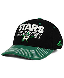 adidas Dallas Stars Locker Room Structured Flex Cap