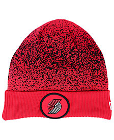 New Era Portland Trail Blazers On Court Collection Cuff Knit Hat