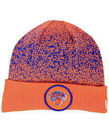 New Era New York Knicks On Court Collection Cuff Knit Hat