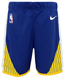 Nike Golden State Warriors Icon Replica Shorts, Little Boys (4-7)