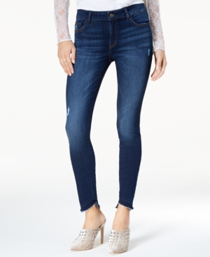 M1858 Kristen StepHem Skinny Jeans A Macys Exclusive Style