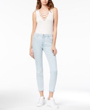 Joe's Jeans The Charlie Ankle Frayed Skinny Jeans 5342940