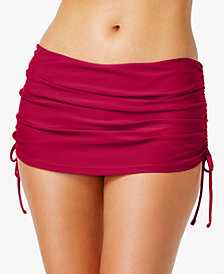 Island Escape Ruched Swim Skirt, Created for Macy's