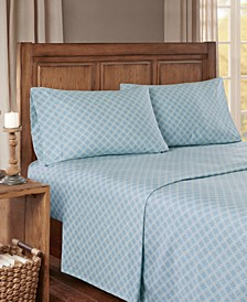 True North Cotton Flannel 4-Piece King Sheet Set