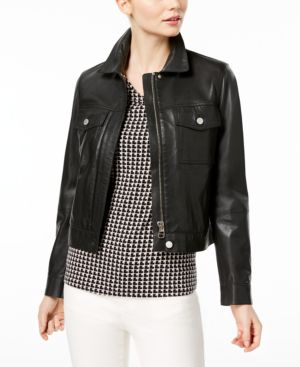 CALCINA LEATHER JACKET