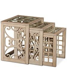 Juliana Nesting Tables (Set Of 3), Quick Ship