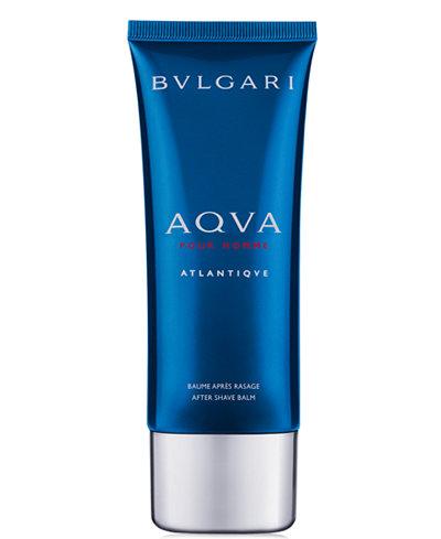 BVLGARI Men's Aqua Atlantique Eau de Toilette After Shave Balm, 3.4 oz