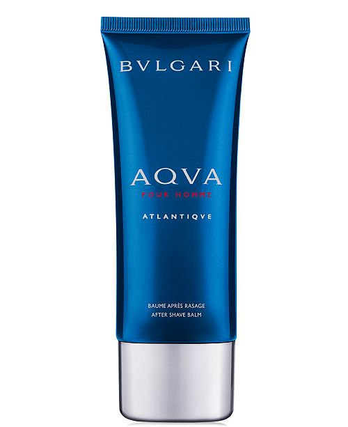 BVLGARI Men's Aqua Atlantique Eau de Toilette After Shave Balm, 3.4 oz