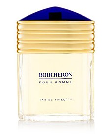 Boucheron Men's Pour Homme Eau de Toilette Spray, 3.3 oz