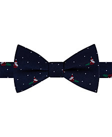 Tommy Hilfiger Men's Santa Conversational Pre-Tied Silk Bow Tie