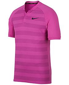 Nike Men's Momentum Zonal Cooling Striped Slim Golf Polo