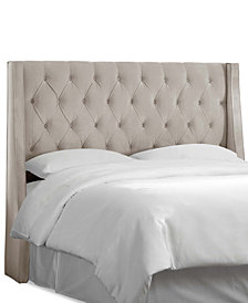 Marcone California King Wingback Headboard, Quick Ship
