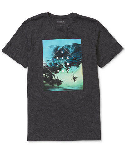 Billabong Men's Cross Section Graphic-Print T-Shirt