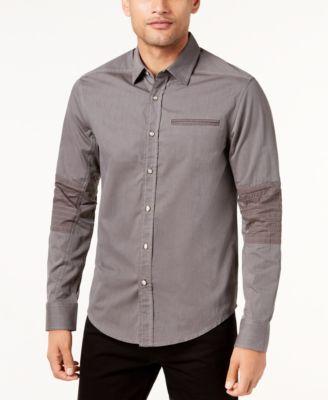 Brown Mens Casual Button Down Shirts & Sports Shirts - Macy's