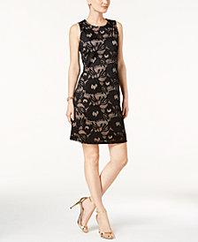 Nine West Lace Sheath Dress