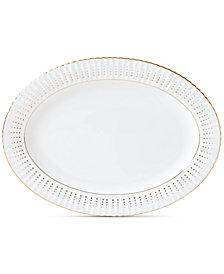 Lenox Golden Waterfall Oval Platter