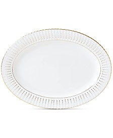 Lenox Golden Waterfall Oval Platter