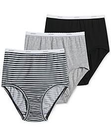 Classics Full Cut Brief Underwear 3 Pack 9482