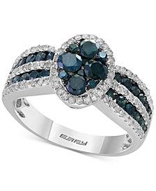 EFFY® Diamond Ring (1-3/8 ct. t.w.) in 14k Whtie Gold
