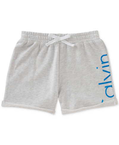 Calvin Klein Logo Shorts, Big Girls