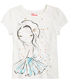 Epic Threads Printed T-Shirt, Little Girls, Created for Macy's