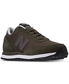 New Balance Men's L501 Suede Casual Sneakers from Finish Line