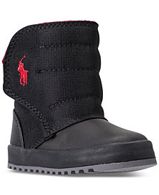 Polo Ralph Lauren Toddler Boys' Gabriel II Quilted Boots from Finish Line