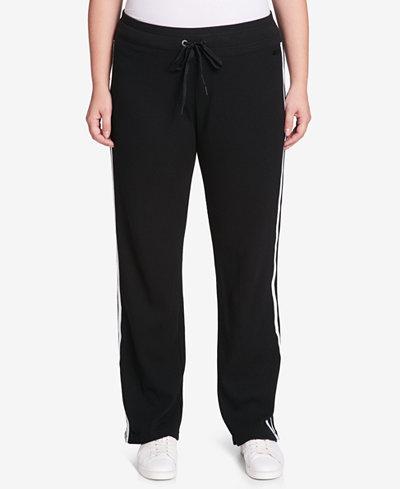 Calvin Klein Performance Plus Size Thermal Track Pants