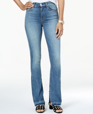 Hudson Jeans Raw-Hem Bootcut Jeans