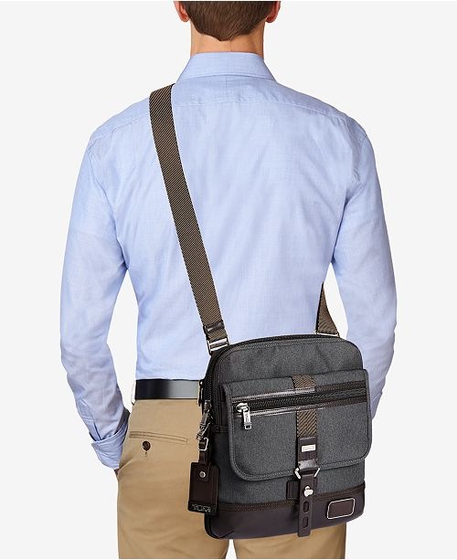 Tumi Alpha Bravo Annapolis Zip-Flap Crossbody Bag